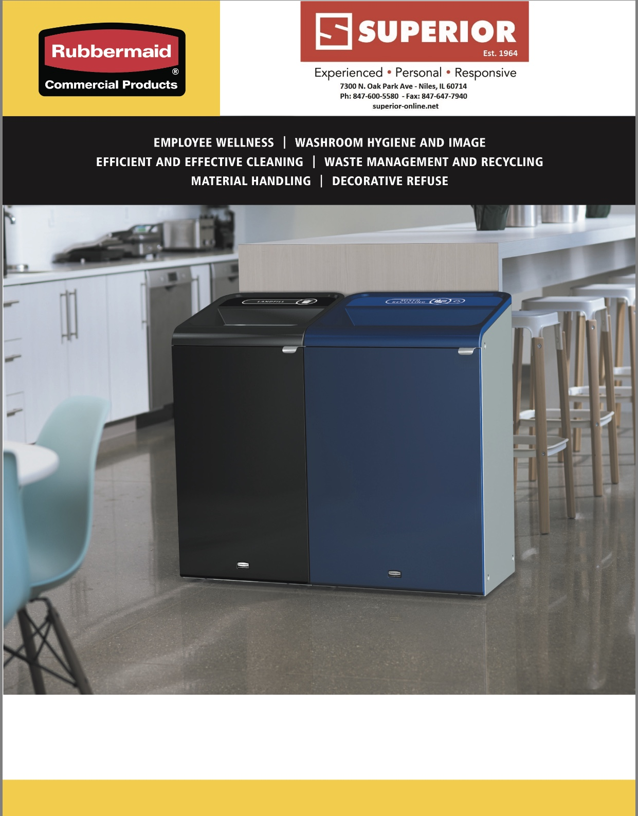 RUBBERMAID 2018 PRODUCTS CATALOG